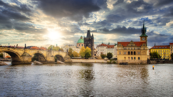 The Golden City of Prague by Arian Shkaki