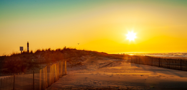 Sunrise from the Beach - Landscape Photography - Nicole Fiore Photography