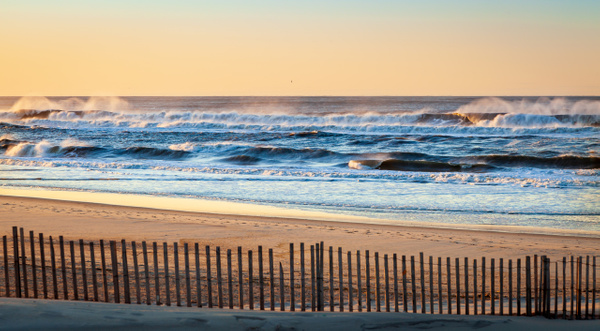 Waves After Sunrise - Landscape Photography - Nicole Fiore Photography