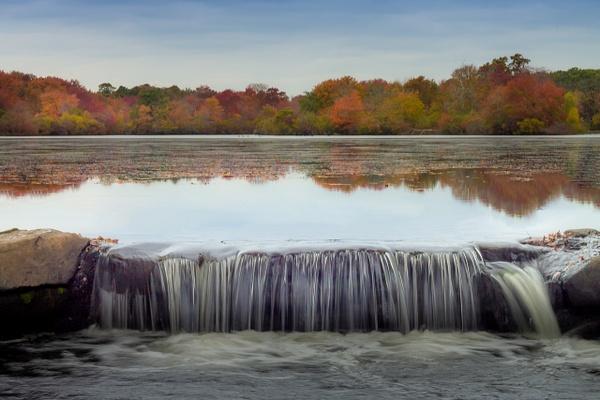Fall Foliage at Belmont Lake - Landscape Photography - Nicole Fiore Photography