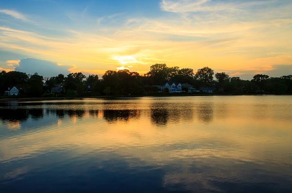 Sunset over Argyle Lake - Landscape Photography - Nicole Fiore Photography