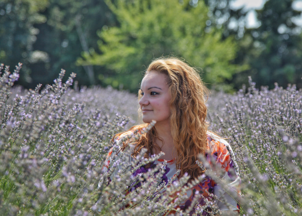 Lovely in Lavender - Astro Photography - Nicole Fiore Photography