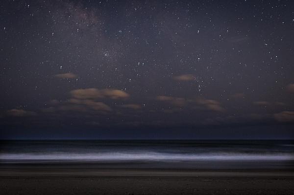 Night Sky on the Beach - Astro Photography