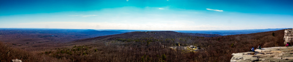 Sam's Point Overlook Pano - Landscape Photography - Nicole Fiore Photography