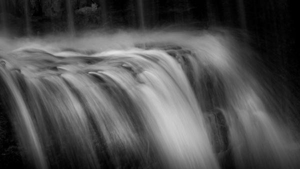 hiddenfallbw - Waterfalls - Bill Frische