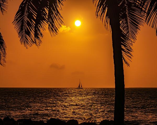 reallyorangesunsetsail - Key West - Bill Frische