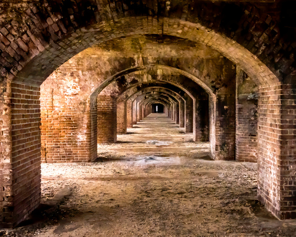 Fort Jefferson in the Dry Tortugas - Key West, Florida - Bill Frische Photography