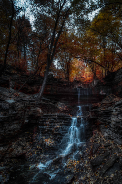 hiddenfalls-stpaul-irchrome-5 - Minneapolis and Minnesota - Bill Frische Photography