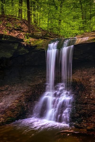 bluehenfalls-final - Waterfalls - Bill Frische Photography