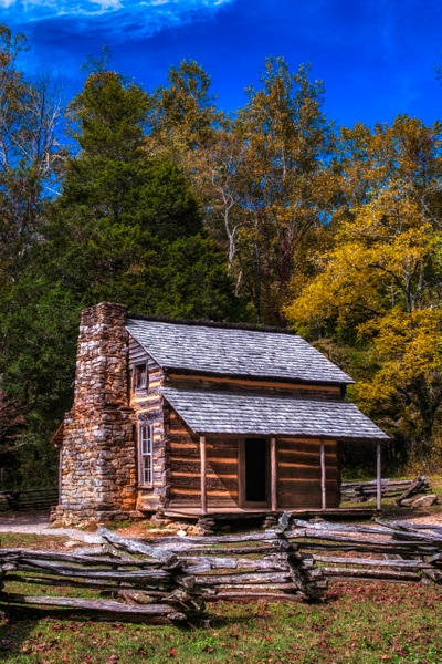 house - Smokies - Bill Frische Photography