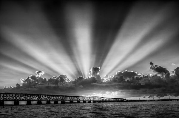 Bahia Honda Bridge Sunset - Bill Frische Home
