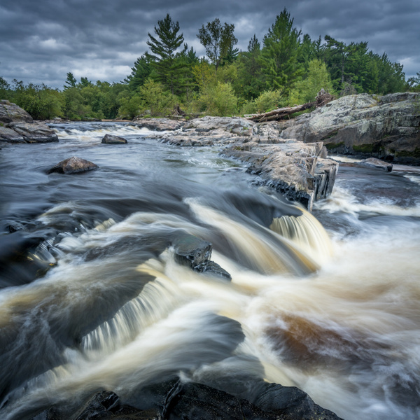 Small falls at Big Falls - Bill Frische Home