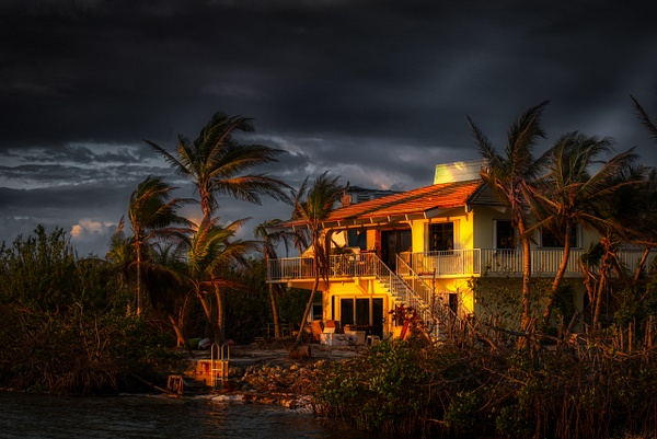 A house at sunrise in Key West - Key West, Florida - Bill Frische Photography