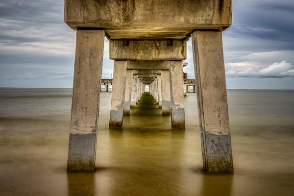 Ft Myers Beach Pier - Key West, Florida - Bill Frische Photography