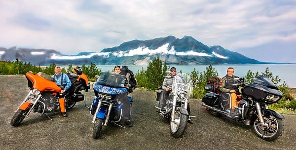 Destruction Bay, Yukon - Motorcycle - Jim Krueger Photography