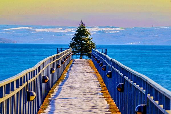Skaneateles, NY Pier - Landscape - Jim Krueger Photography