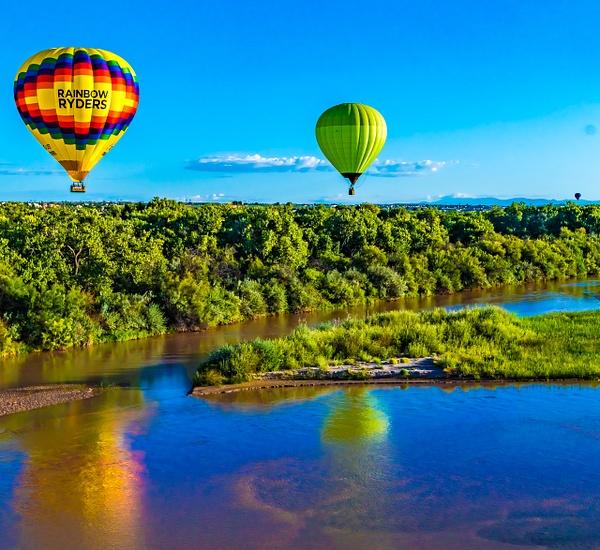 Albuquerque, NM Ballooning - Landscape - Jim Krueger Photography