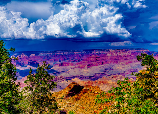 Grand Canyon Storm Clouds - Landscape - Jim Krueger Photography