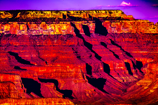Grand Canyon Sunset - Landscape - Jim Krueger Photography