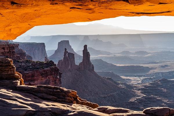 Canyonlands Arch - all lit up - Landscape - Jim Krueger Photography