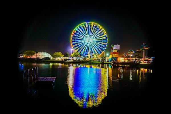 Reflections - Night Photography - Jim Krueger Photography