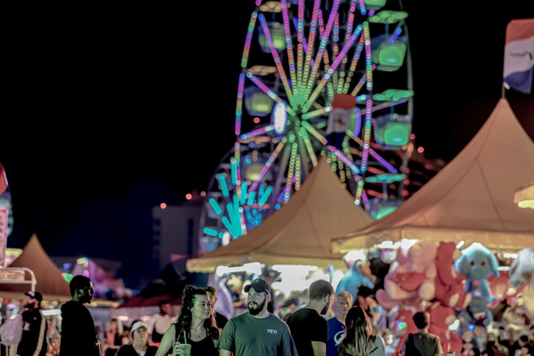 Nightime at the Fair - Night Photography - Jim Krueger Photography