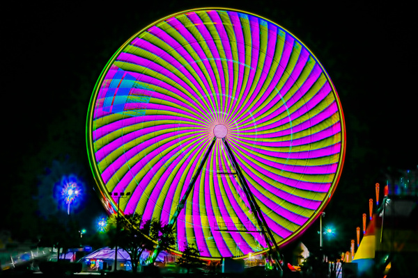 At the Fair - Night Photography - Jim Krueger Photography