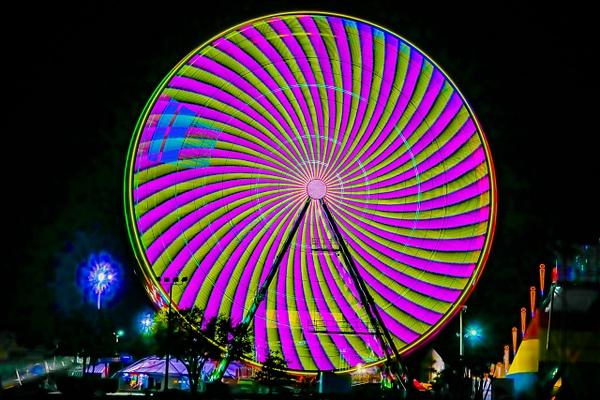 At the Fair - Night Photography - Jim Krueger Photography
