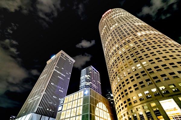 Night in Tampa - Night Photography - Jim Krueger Photography