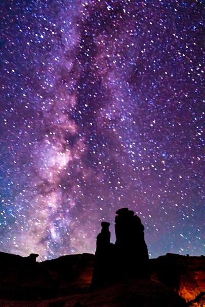 Utah at night - Night Photography - Jim Krueger Photography
