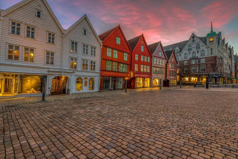 Bergen dawn