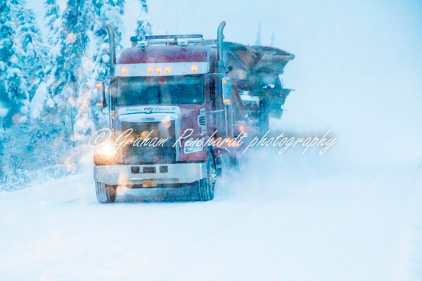 Dalton Highway Alaska 11-18-10 - Alaskan Scenery - Graham Reichardt Photography