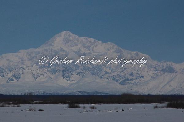 Mt Denali Alaska 1 - Alaskan Scenery - Graham Reichardt Photography