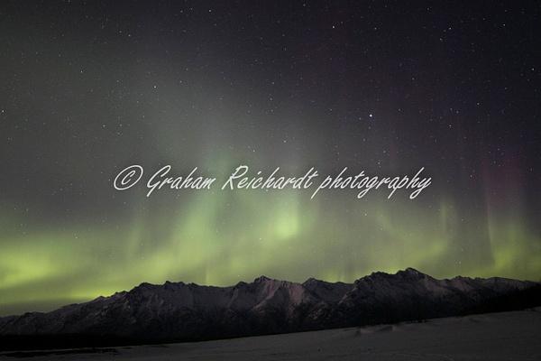 4- Aurora Borealis or Northern Lights taken in Knik River valley Anchorage - Aurora - Graham Reichardt Photography