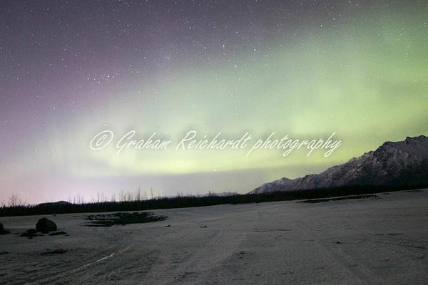 8- Aurora Borealis or Northern Lights taken in Knik River valley Anchorage - Aurora - Graham Reichardt Photography