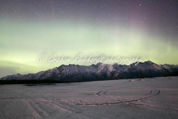 6- Aurora Borealis or Northern Lights taken in Knik River valley Anchorage - Aurora - Graham Reichardt Photography