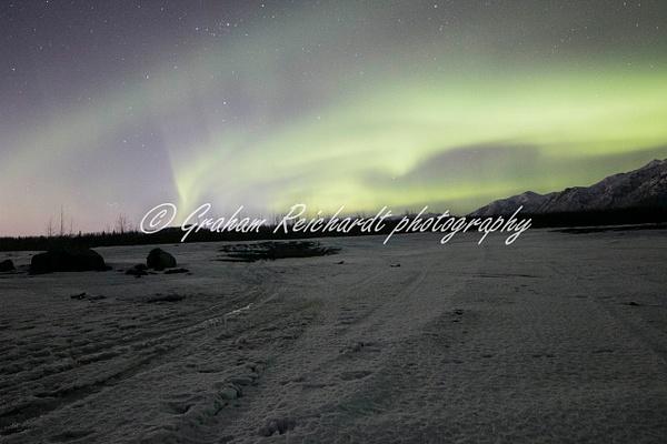 5- Aurora Borealis or Northern Lights taken in Knik River valley Anchorage - Aurora - Graham Reichardt Photography
