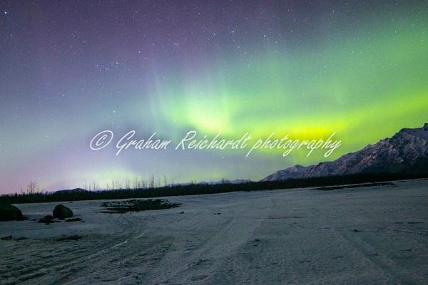 7- Aurora Borealis or Northern Lights taken in Knik River valley Anchorage - Aurora - Graham Reichardt Photography