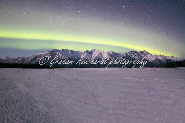 2-  Aurora Borealis or Northern Lights taken in Knik River valley Anchorage - Aurora - Graham Reichardt Photography