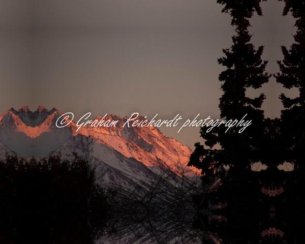 Sunset Anchorage Alaska 18-11-18 (6) - Sunsets - Graham Reichardt Photography
