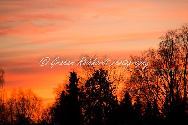 Sunset Anchorage Alaska 18-11-18 (5) - Sunsets - Graham Reichardt Photography