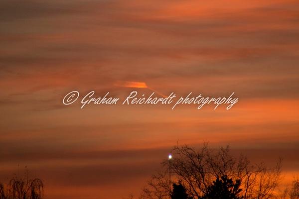 Sunset Anchorage Alaska 18-11-18 (3) - Sunsets - Graham Reichardt Photography