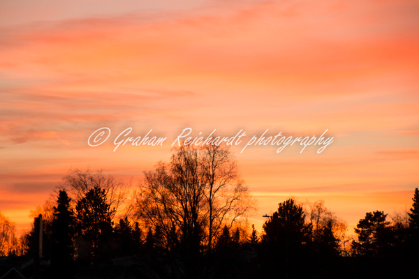 Sunset Anchorage Alaska 18-11-18 (1) - Sunsets - Graham Reichardt Photography