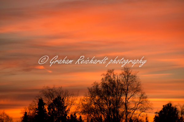 Sunset Anchorage Alaska 18-11-18 (4) - Sunsets - Graham Reichardt Photography