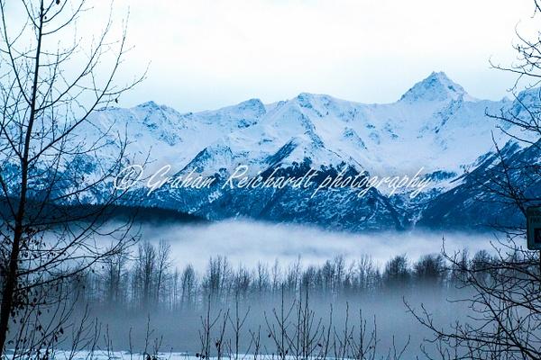 1- Alaska mountains Chilkat Eagle preserve Haines Alaska 11-18-1 - Alaskan Scenery - Graham Reichardt Photography