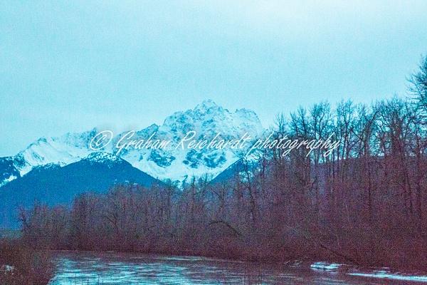 2- Alaska mountains Chilkat Eagle preserve Haines Alaska 11-18-2 - Alaskan Scenery - Graham Reichardt Photography