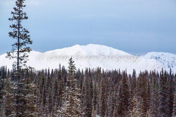1-mountains Alaska 11-18-2 - Alaskan Scenery - Graham Reichardt Photography