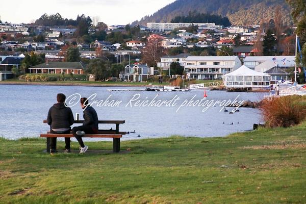 2 Mile Bay Taupo - NZ Scenery - Graham Reichardt Photography