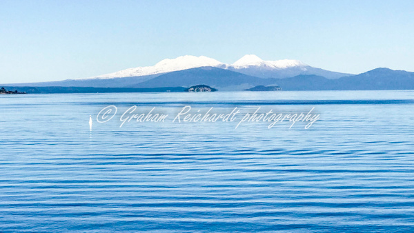 Lake Taupo and Tongariro National Park 1 - NZ Scenery - Graham Reichardt Photography