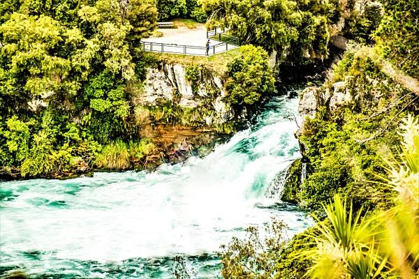 huka Falls - NZ Scenery - Graham Reichardt Photography